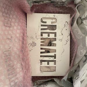 Jeffree star Cosmetics Cremated pallet
